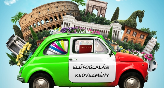10% kedvezmény az Olasz Utazási Irodában!
