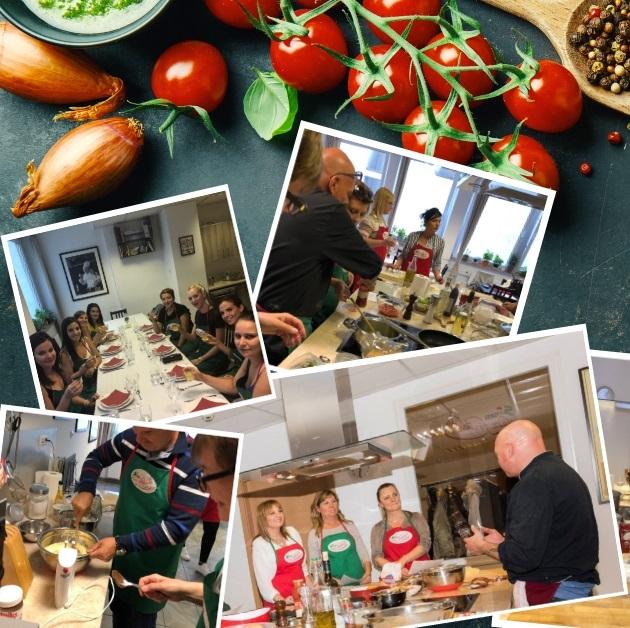 Interaktív csapatépítő főzés a főzőiskolában